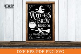 Print on Demand: Witches Brew Drink Co. Graphic Crafts By KtwoP
