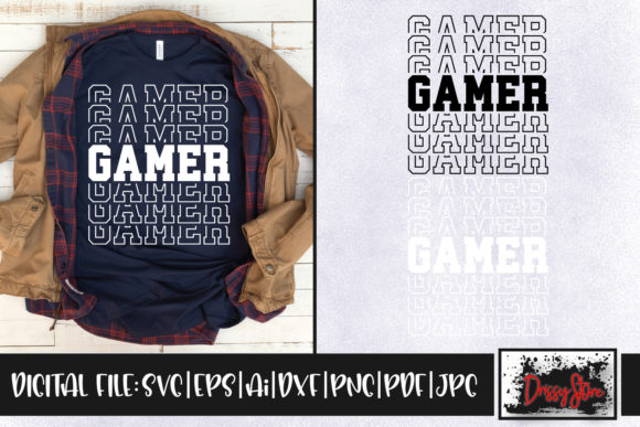 Gamer Graphic Crafts By DrissyStore