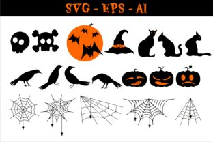 Print on Demand: Halloween Clipart Collection Graphic Illustrations By edywiyonopp