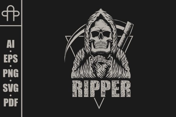 Print on Demand: Ripper Style Vector Illustration Graphic Illustrations By Andypp