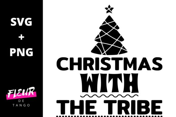 Print on Demand: Christmas with the Tribe Graphic Crafts By Fleur de Tango