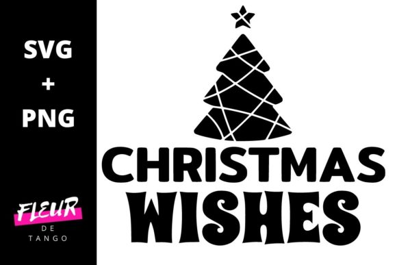 Print on Demand: Christmas Wishes Graphic Crafts By Fleur de Tango