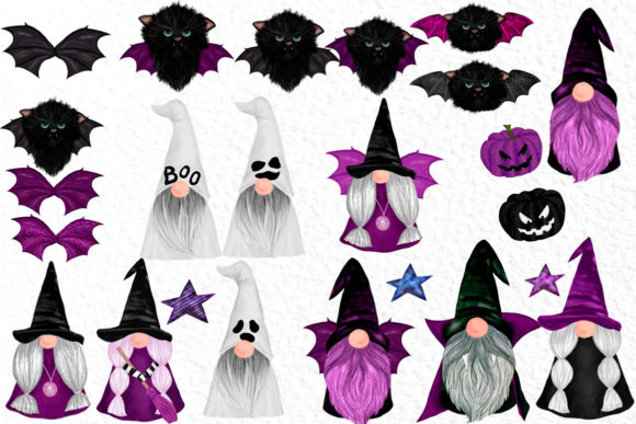 Halloween Gnomes Graphic Download