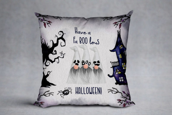 Halloween Gnomes Graphic Design Item