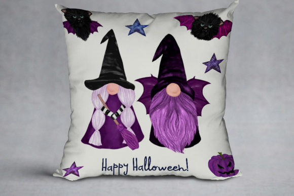 Halloween Gnomes Graphic Downloadable Digital File