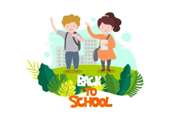 Back to School Graphic UX and UI Kits By etinurhayati0586
