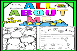 Back to School All About Me Pack - 1