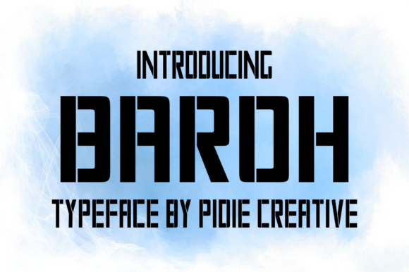 Print on Demand: Baroh Display Font By Pidie_Creative