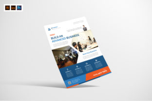 Business Agency Flyer Design Graphic Print Templates By afahmy