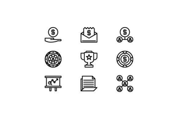 Business Line Icon Graphic Icons By thenoun.faisal