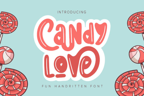 Print on Demand: Candylove Decorative Font By Vunira
