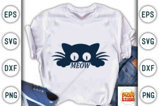 Print on Demand: Meow Graphic Print Templates By CraftStudio
