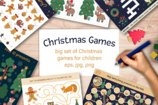 Christmas Games Graphic Teaching Materials By lexiclaus