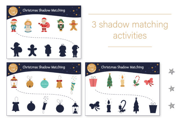 Christmas Games Graphic Design