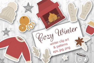 Cozy Winter Graphic Illustrations By lexiclaus