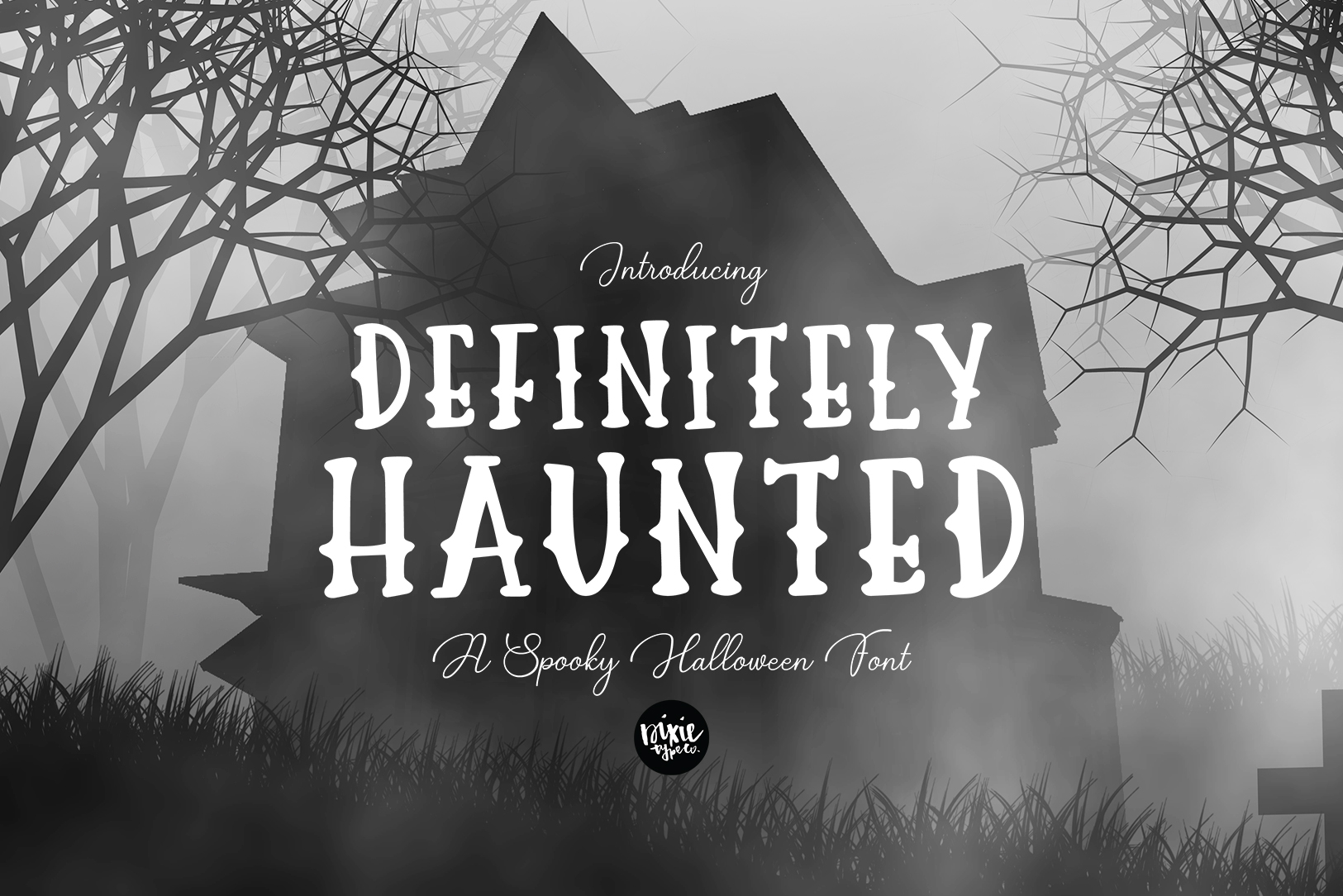 Definitely Haunted Font By Dixietypeco Creative Fabrica