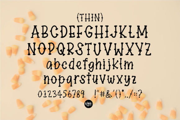 Definitely Haunted Font Preview