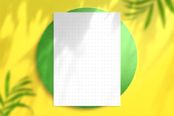 Dot Grid Graph Paper Graphic KDP Interiors By Nickkey Nick