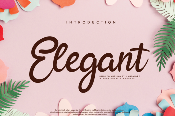 Print on Demand: Elegant Script & Handwritten Font By handmadetipe