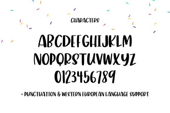 Print on Demand: Glamper Display Font By BeckMcCormick - Image 10