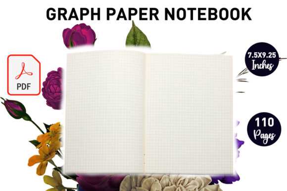 Print on Demand: Graph Paper Notebook - KDP Interior Graphic KDP Interiors By Gurus Kdp Templates