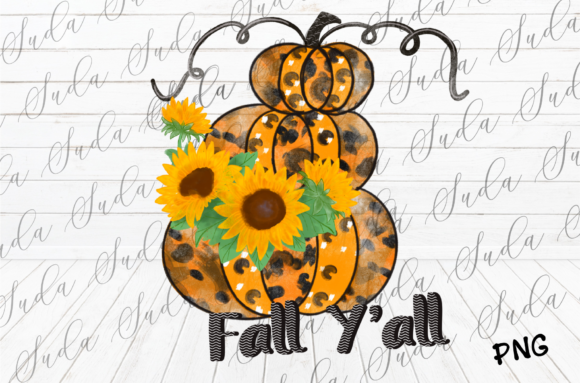 Print on Demand: Halloween Pumpkins Sublimation Graphic Crafts By Suda Digital Art