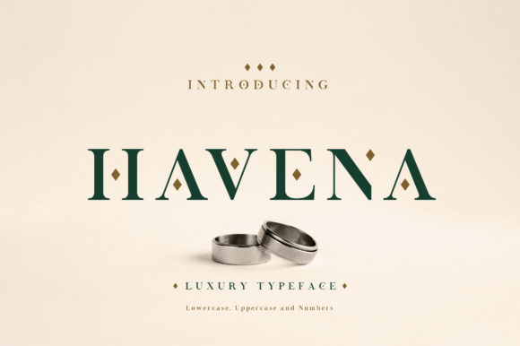 Print on Demand: Havena Serif Font By geengraphy