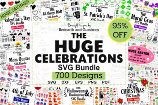 Huge Holiday and Celebration Bundle Graphic Crafts By redearth and gumtrees
