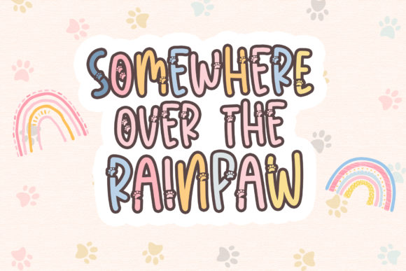 Meow Paw Font Download