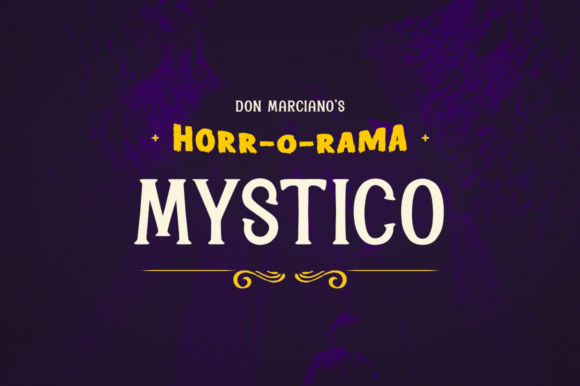Print on Demand: Mystico Serif Font By DonMarciano