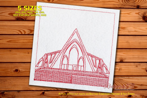 National Anglican Church - Nigeria Bluew Africa Embroidery Design By Redwork101