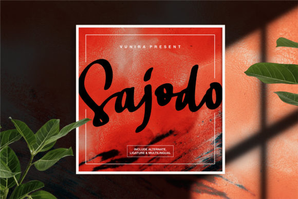 Print on Demand: Sajodo Script & Handwritten Font By Vunira
