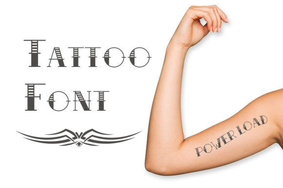 Print on Demand: Tattoo Script & Handwritten Schriftarten von OWPictures
