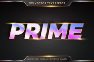 Text Effect in 3D Prime Text Effect Graphic Layer Styles By visitindonesia