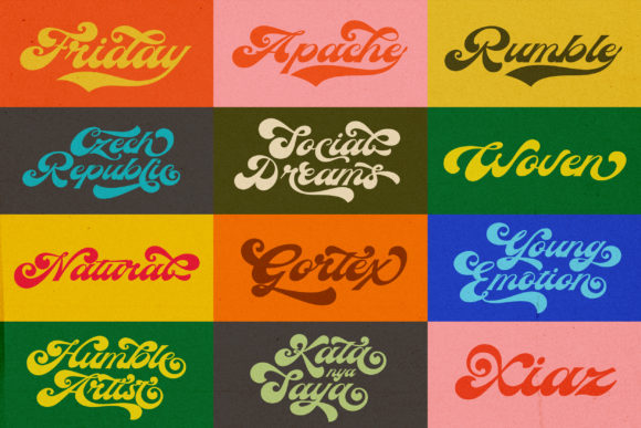 The Candy and Boy Font Popular Design