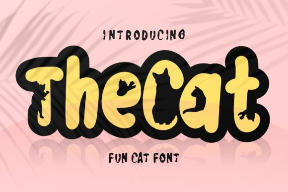 The Cat Font
