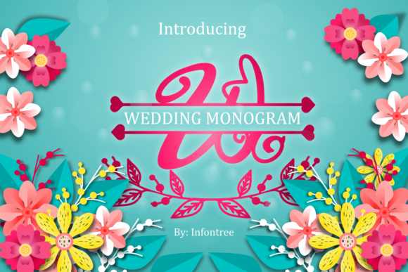 Print on Demand: Wedding Monogram Script & Handwritten Font By Infontree
