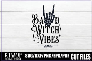 Print on Demand: Bad Witch Vibes Graphic Crafts By KtwoP