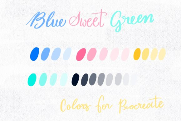 Blue Sweet Green Graphic Add-ons By Poycl Jazz