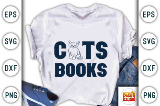 Print on Demand: Cats Books Graphic Print Templates By CraftStudio