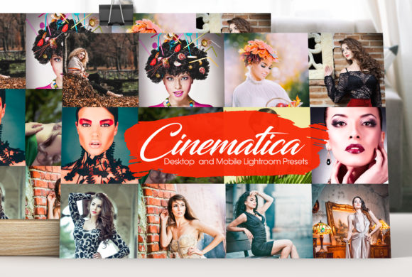 Cinematica Lightroom Presets Graphic Actions & Presets By MintDesign