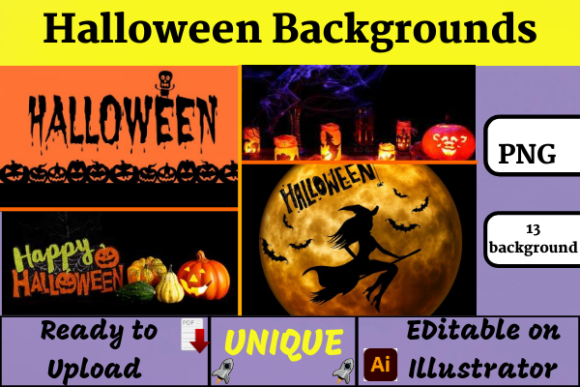 Halloween Background Illustration Graphic Illustrations By Wiss_Tips designs