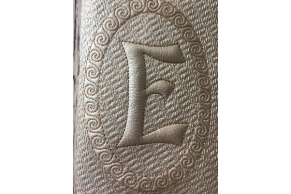 Passport Cover with Letter in the Hoop Sewing & Crafts Embroidery Design By ImilovaCreations - Image 3