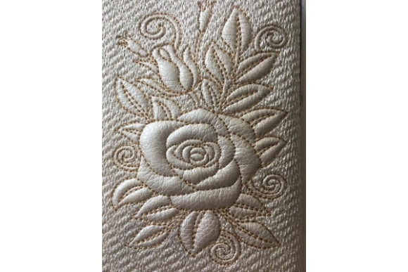 Passport Cover with Letter in the Hoop Sewing & Crafts Embroidery Design By ImilovaCreations - Image 4