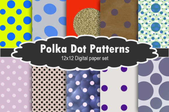 Print on Demand: Polka Dot Patterns Graphic Patterns By A Design in Time