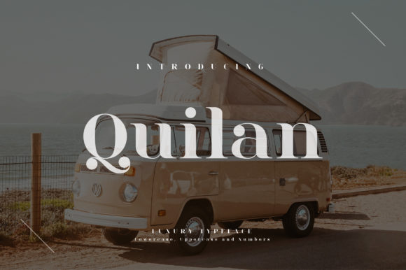 Print on Demand: Quilan Serif Font By geengraphy