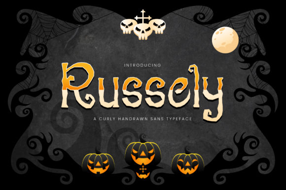 Print on Demand: Russely Display Font By naulicrea