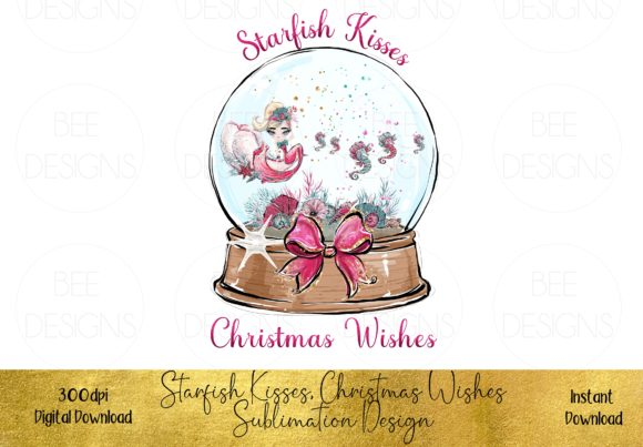 Starfish Kisses, Christmas Wishes Graphic Illustrations By STBB