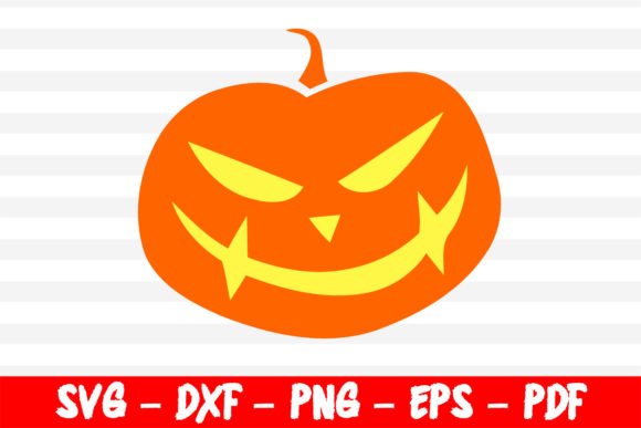 Print on Demand: 31 October Pumpkin Smile  Graphic Crafts By creativeshohor