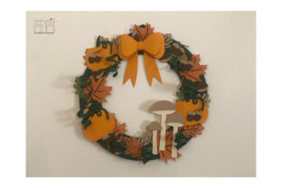 Autumn Garland Graphic 3D SVG By patrizia.moscone